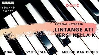 Tutorial Keyboard LINTANGE ATI NELLA KHARISMA (Melodi dan Akor Do=C)