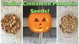 Roasted Pumpkin Seeds 2 Ways: Garlic & Spice by CHERRY DOLLFACE Thumbnail