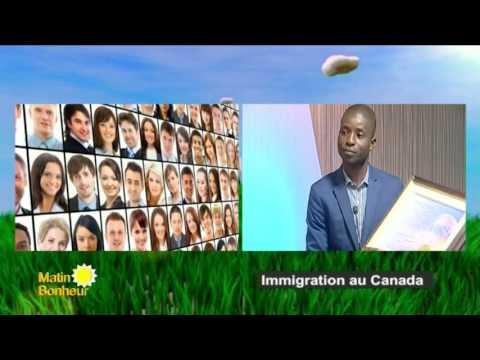 31 OCTOBRE 2016 - MATIN BONHEUR RTI1 - IMMIGRATION AU CANADA - ABIDJAN CÔTE D'IVOIRE