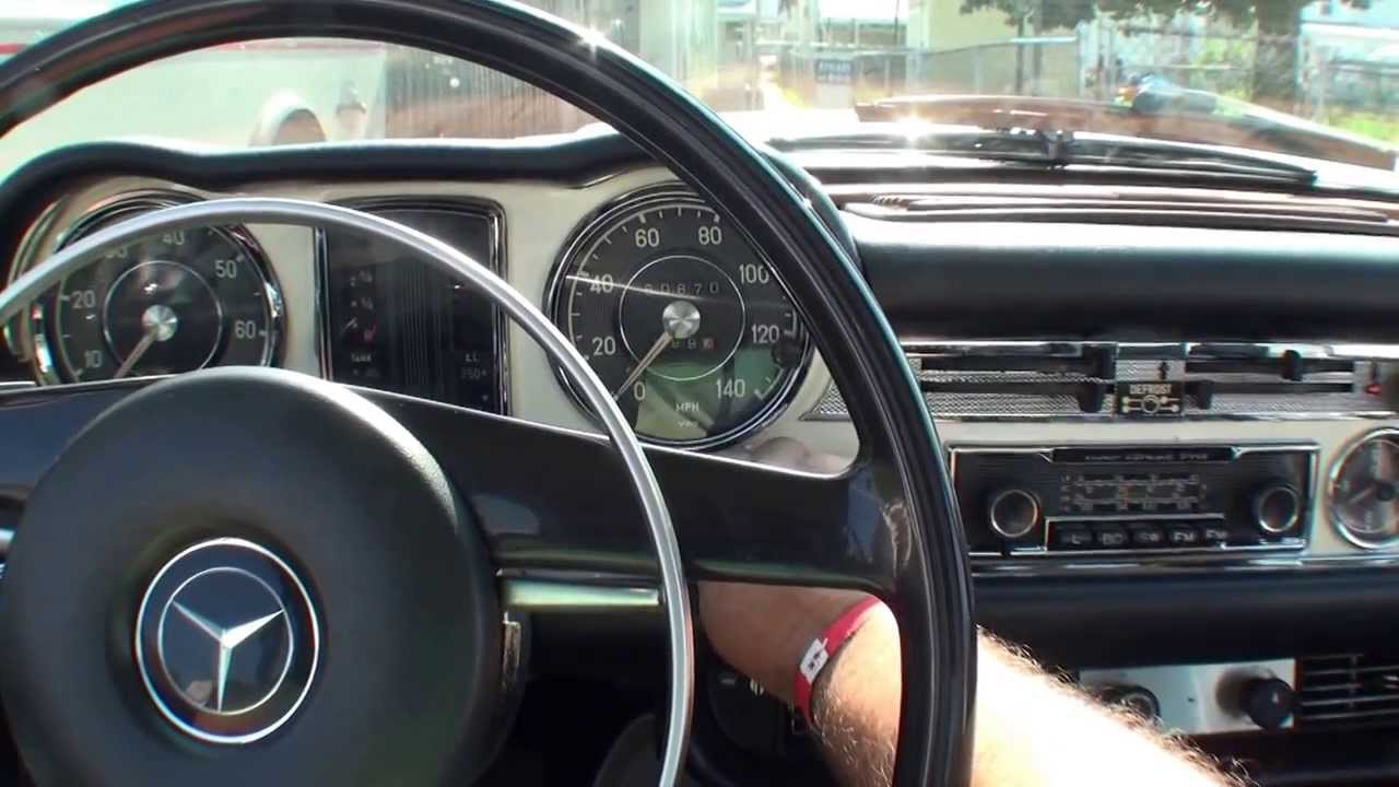 Mercedes benz 280sl exhaust sound after replacement youtube for Mercedes benz remote start instructions