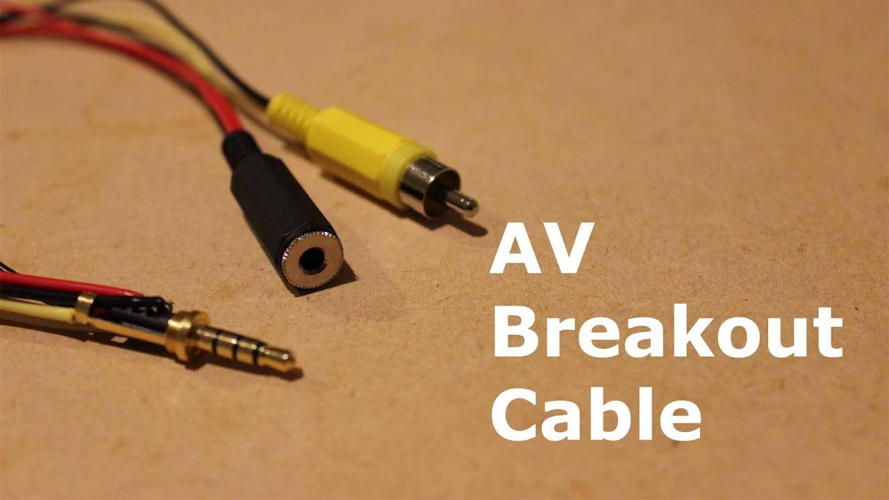 Raspberry Pi B Av Breakout Cable Youtube