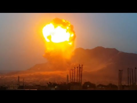 Nuclear Strike in Yemen (May 11, 2015) - Neutron Nuke