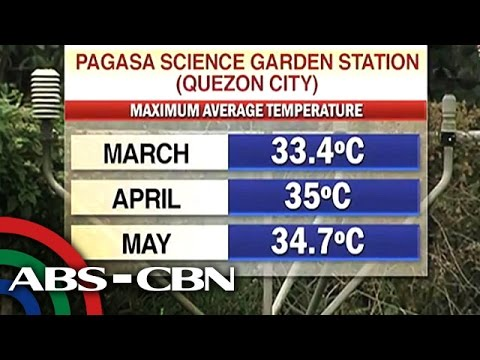 PAGASA: Summer to arrive mid-March