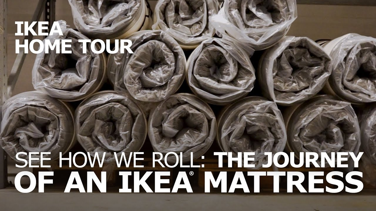 Hokkasen Matras Many Ikea Mattresses Are Actually Roll Up Mattresses Ikea Home Tour