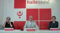 Halle (Saale): Video-Pressekonferenz vom 19. April 2020 zur aktuellen Corona-Lage
