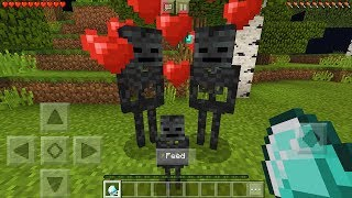 How To Breed Wither Skeletons in Minecraft Pocket Edition (Skeleton Breeding Addon)