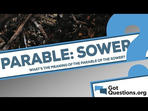 What is the meaning of the Parable of the Sower