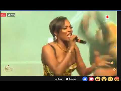 Tiwa Savage Performs Live @VGMA 2018