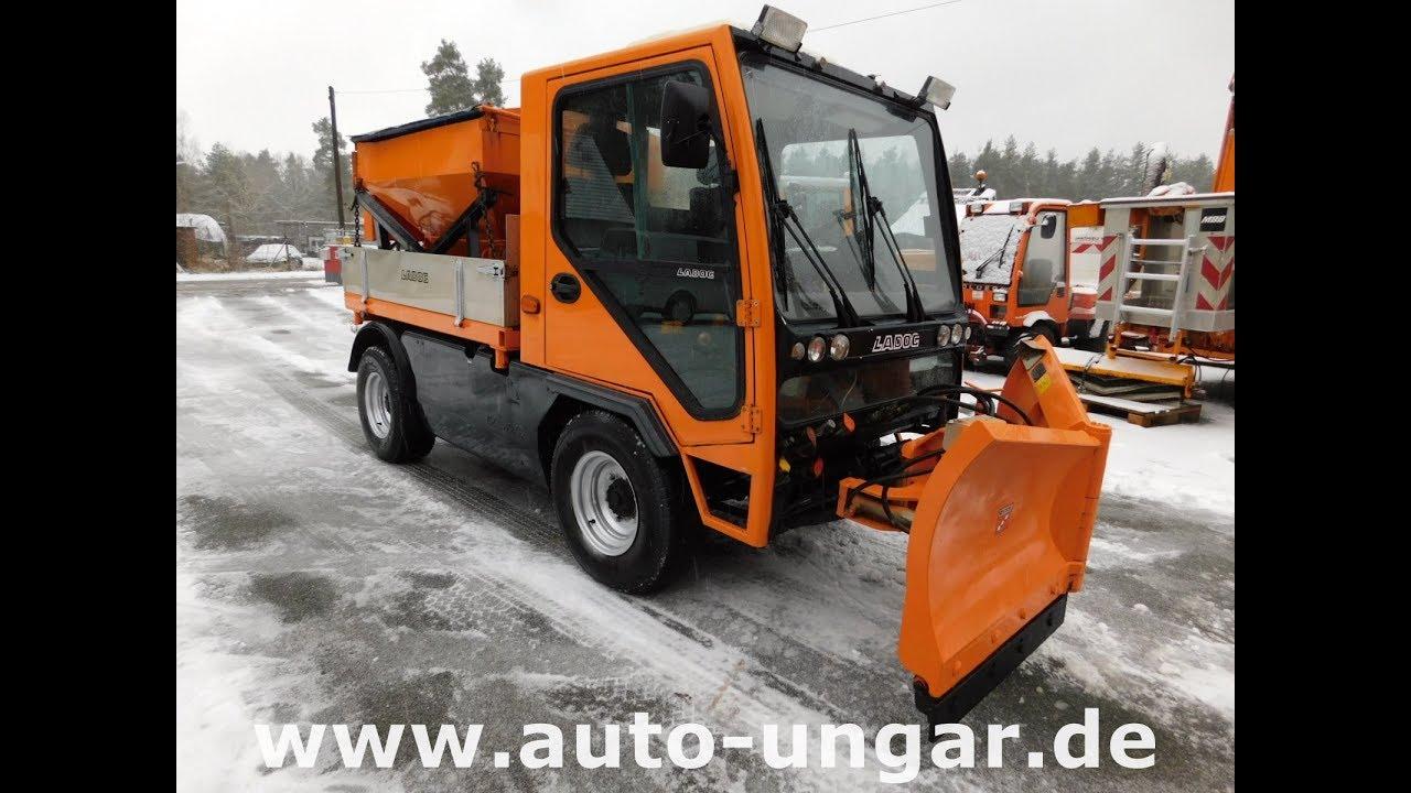 Berühmt Ladog T1400 Winterdienst 4x4x4 www.auto-ungar.de - YouTube @IJ_44