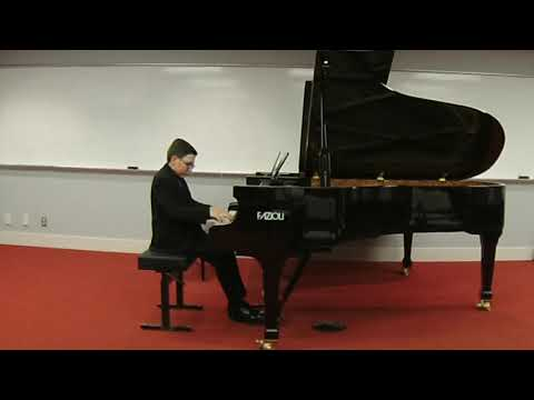Matthieu Foresi, 12 years old, plays Tarantella by Liszt
