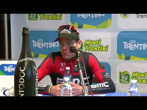 Giro del Trentino 2014: Cadel Evans' press conference after stage3