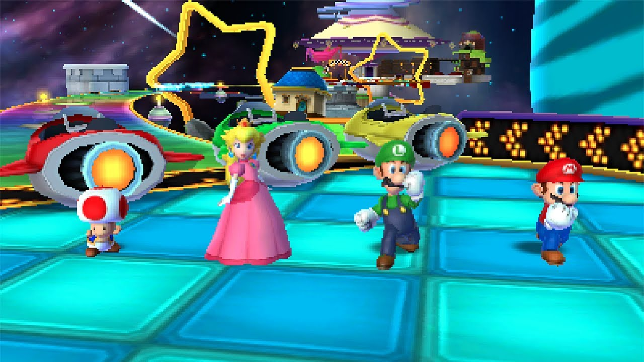 Mario Party Island Tour Rocket Road