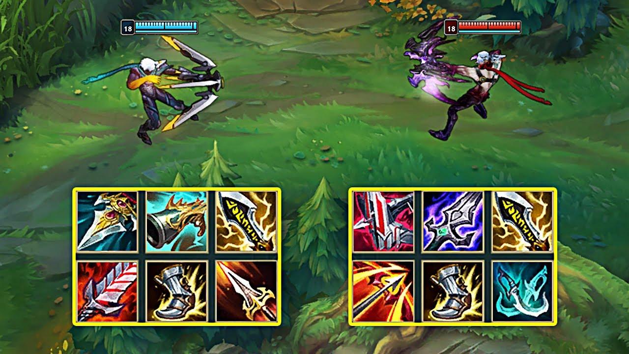 LETHALITY VARUS vs CRIT VARUS - League of Legends