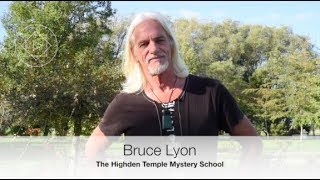 Bruce talks about Highden Mystery School