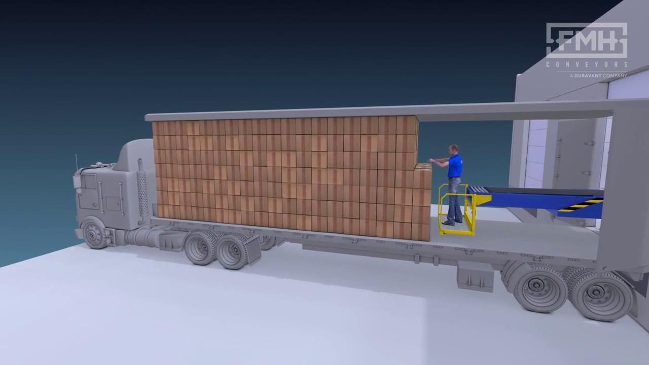 Transportador telescópico para remolque sin necesidad de apoyo