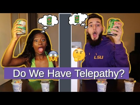 Repeat COUPLES TELEPATHY CHALLENGE!! *Are We Meant To Be
