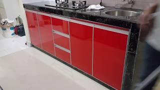 Video Kabinet Dapur / Kitchen Cabinet 3G Red Design download MP3, 3GP, MP4, WEBM, AVI, FLV Mei 2018