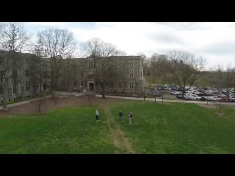 Virginia Tech Ag Quad From Above
