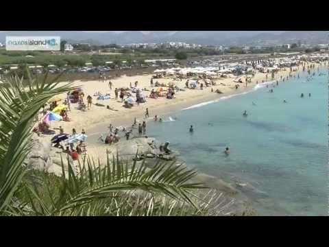 Agios Prokopios beach in Naxos island, Greece