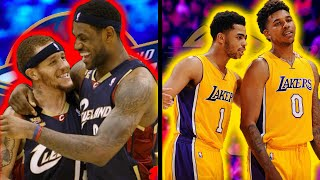 10 Most Awkward NBA Teammate Pairings of All Time