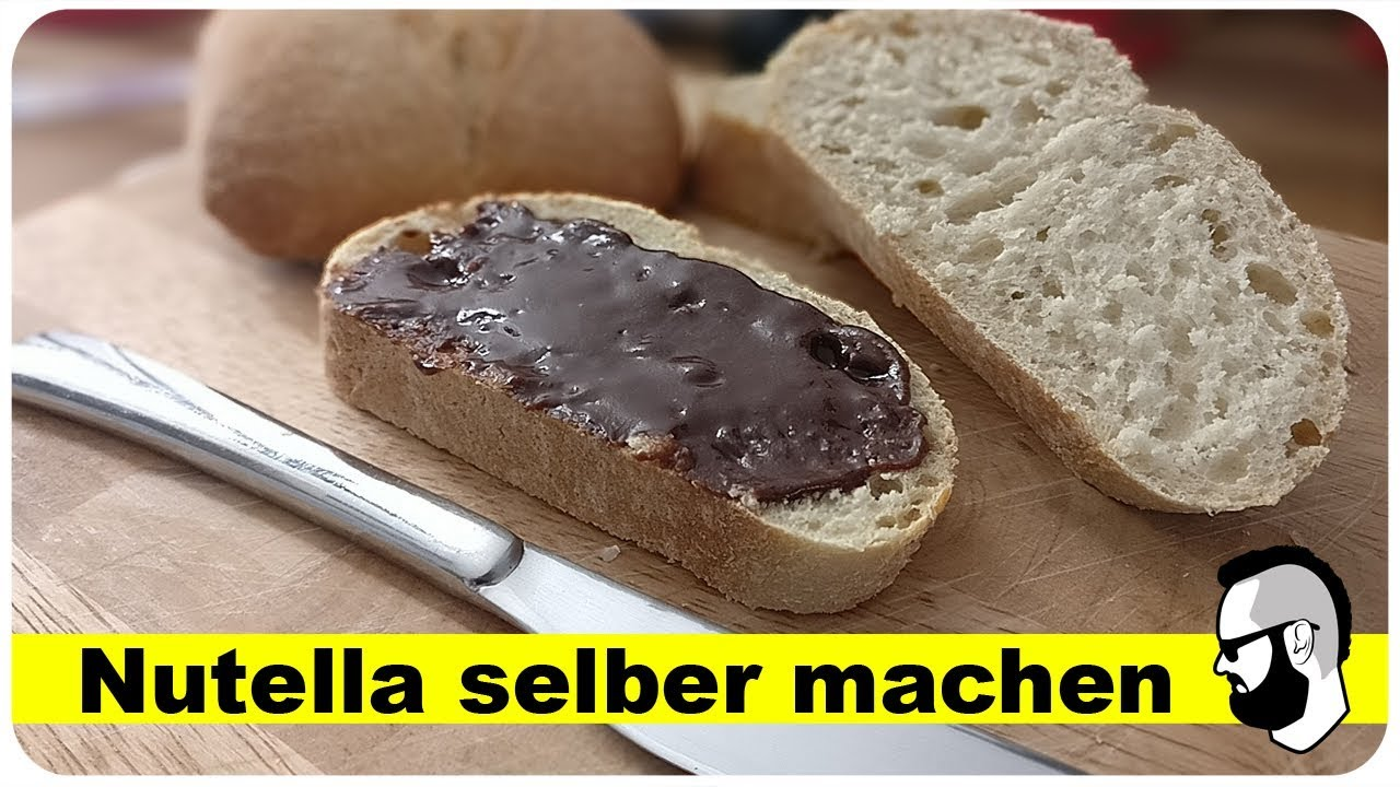 nutella selber machen ohne palm l rezept youtube. Black Bedroom Furniture Sets. Home Design Ideas