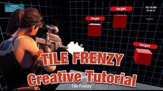 How To Make Tile Frenzy Aim Trainer In Fortnite Creative! (Tutorial)