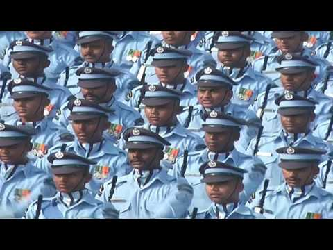Full dress rehearsal of 68th Republic Day parade in Delhi