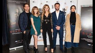 """Il cast del film """"scarlett"""" durante photocall dell'anteprima nazionale avvenuta al riff - rome independent festival.- per iscriversi nostro canale..."""