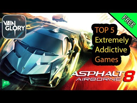 Top 5  Android Games 2017| Extremely Addictive Games On Android