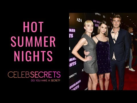 HOT SUMMER NIGHTS Red Carpet with Maia Mitchell, Alex Roe & Maika Monroe