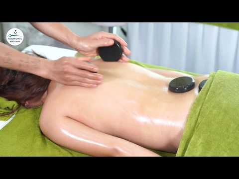 How To Hot Stone Massage With Oil - Relax and Ease Tense Muscles Soft Tissues