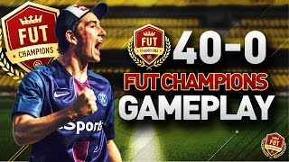 FUT CHAMPIONS RECAP - 40 WINS OUT OF 40!! TOP 4 IN THE WORLD!!