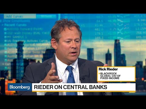 BlackRock's Rieder Says World Is Moving More From Monetary to Fiscal Policy