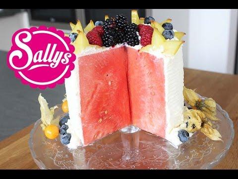 Galileo Wassermelonen-Torte / Obsttorte / Fitness-Torte / no Bake / Sallys Welt