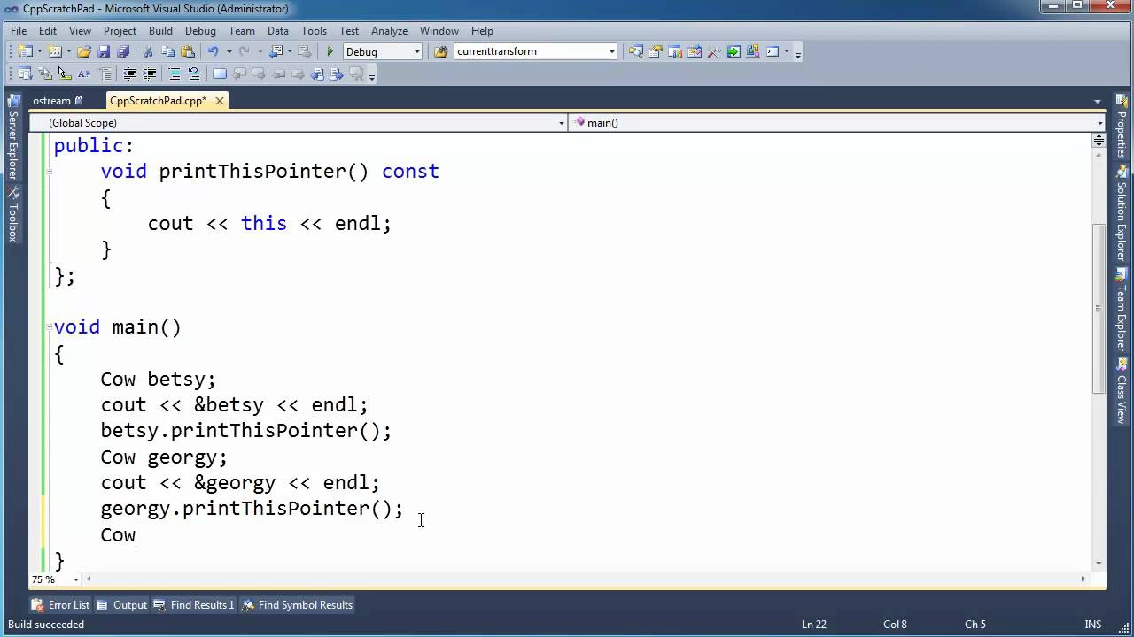 R T Pointer Norwich C++ this Pointer - You...
