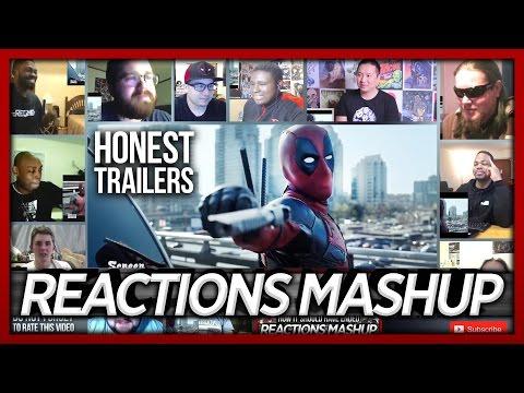 Honest Trailers Deadpool (ft. Deadpool) Reaction's Mashup (12 people, 12 videos)