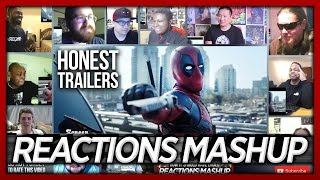 Honest Trailers Deadpool (ft. Deadpool) Reaction