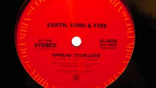 "Earth, Wind & Fire - ""Spread Your Love (12"" Version)"""