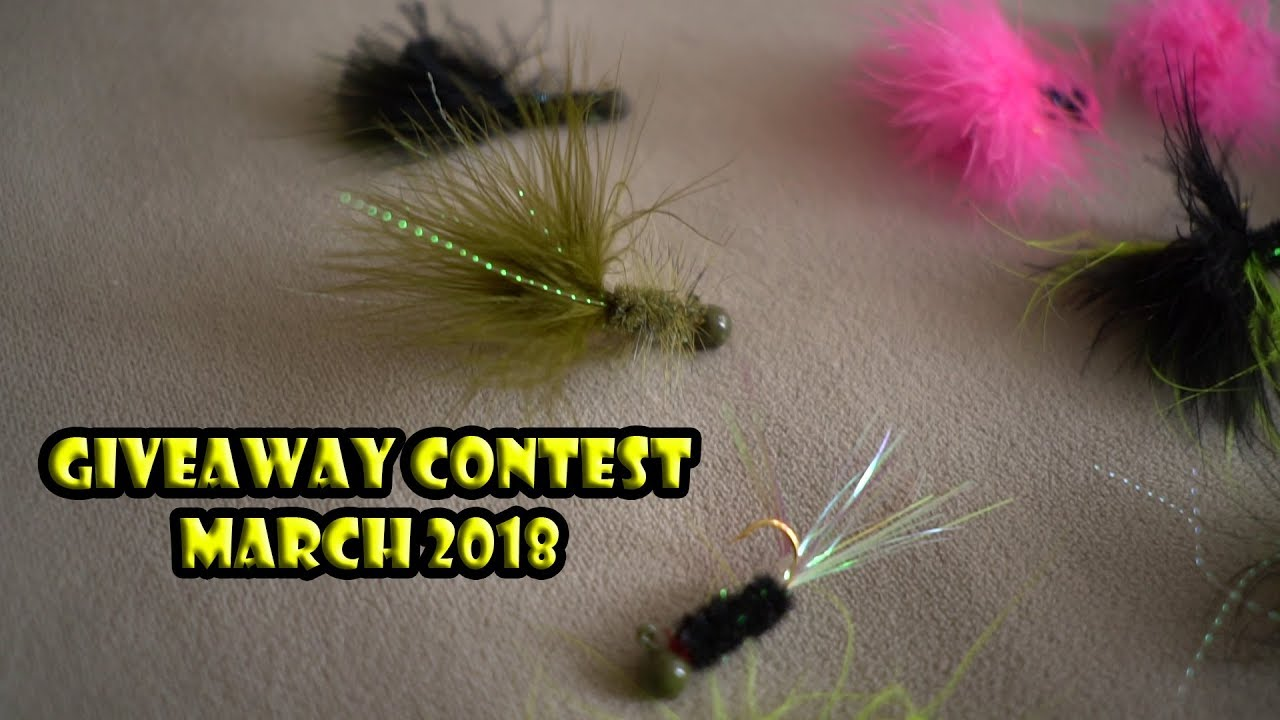 Fly fishing giveaway 2018