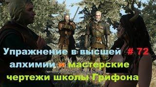 Прохождение The Witcher 3: Wild Hunt Упражнение в высшей алхимии # 72