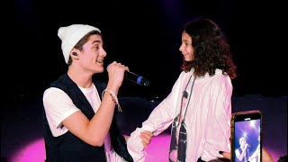 "Asher Angel serenaded my daughter on stage with ""Being Around You""!  10/23/19"