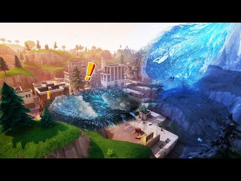 DATE OF IMPACT! 'Tilted Towers' Comet Evidence - Fortnite: Battle Royale