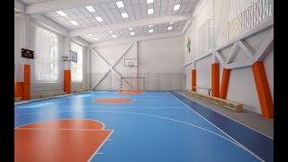 В новокузнецкой школе № 41 открыли современный спортивный комплекс