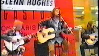 glenn hughes - you keep on moving - acoustic - tokyo japan promo tour 1994