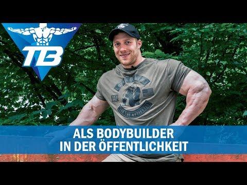 Bodybuilder in der Öffentlichkeit | So werde ich wahrgenommen