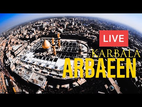 LIVE 🔴 From Karbala Arbaeen Walk | Najaf to Karbala | 1440 H