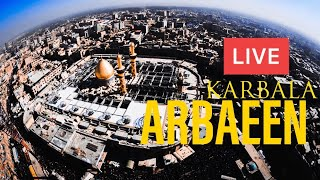 LIVE 🔴 From Karbala Arbaeen Walk | Najaf To Karbala | 1440 Hijri / 2018