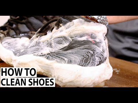 How to Clean Shoes - Shoe MGK