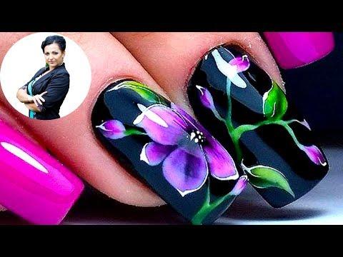 Дизайн на ногтях цветы фото