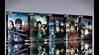 Merlin - Le 5 stagioni complete in DVD